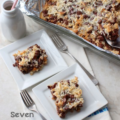 Seven Layer Magic Coconut Bars