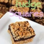 Oatmeal Fudgy Bars that are sure to put a smile on everyone's face! We love them!