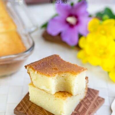 A Taste of Home – Butter Mochi Recipe