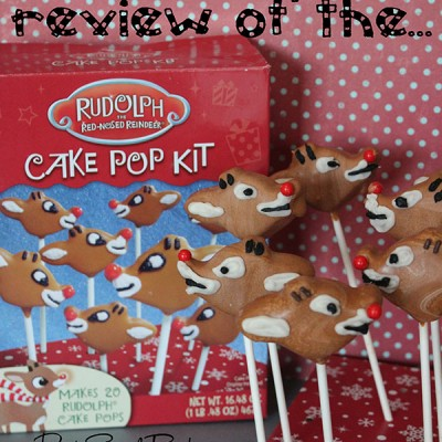 Review of Rudolph Cake Pop Kit