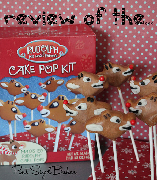 cake pop kit review of rudolph cake pop kit pint sized baker 2289