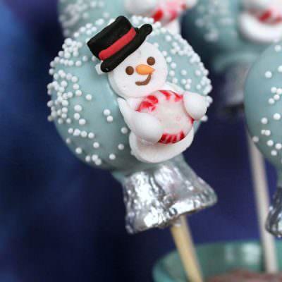 Snow Globe Cake Pops