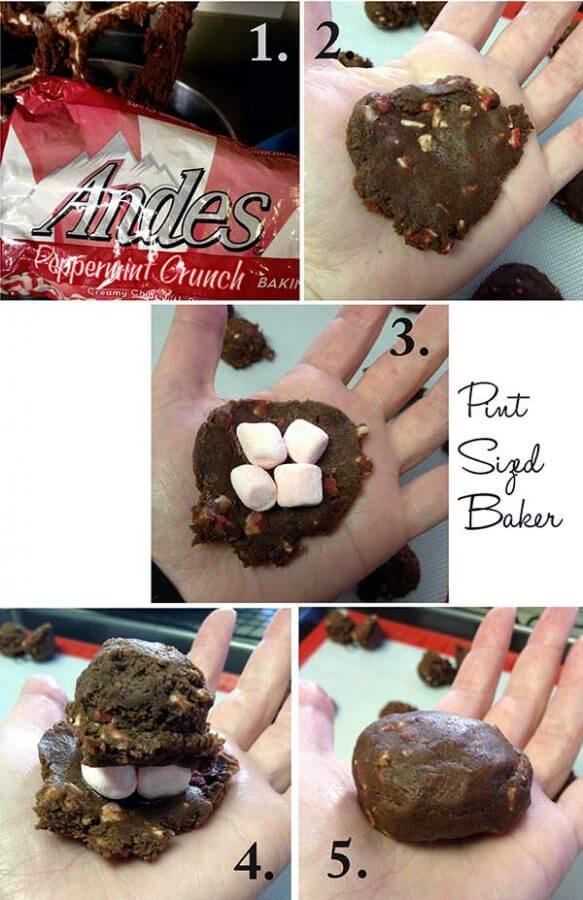You will love these Chocolate Peppermint Marshmallow Cookies! They are perfect for the holidays!