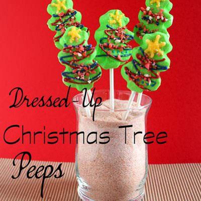 Dressed Up Peep Pops