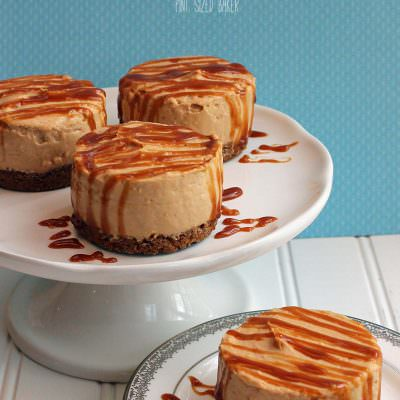 Gingerbread Pudding Cheesecake with Caramel Sauce and Biscoff Cookie Crust