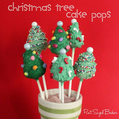 How to Make Christmas Tree Cake Pops