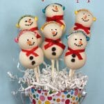 How to Make Snowman Cake Pops