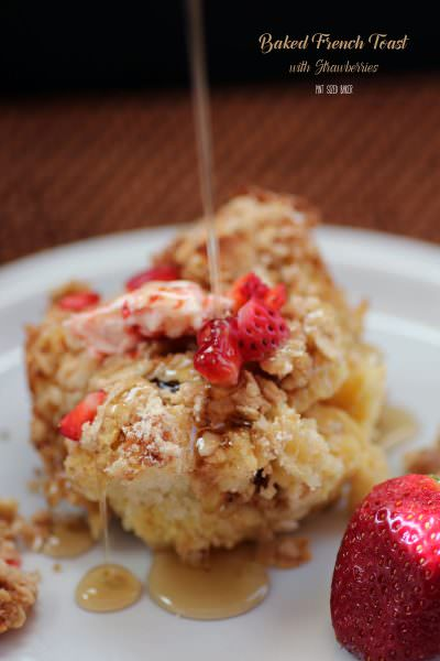 Baked Strawberry French Toast