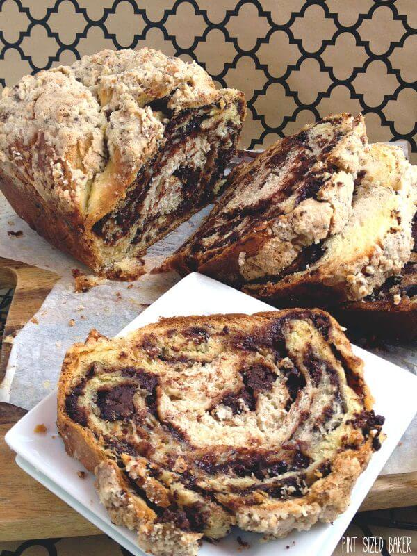 Chocolate Babka Bread is a favorite snack to enjoy. Just don't let Jerry and Elaine have the last babka loaf!