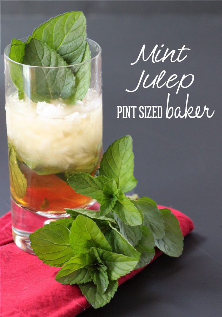 Mint Juleps (with and without alcohol)