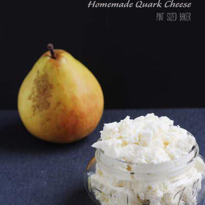 Homemade Quark Cheese