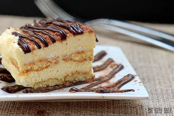 All homemade Tiramisu is just amazing!! From the homemade ladyfingers and Mascarpone cheese - it's just so delicious!