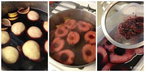 Poaching Pears is easy to do and they taste great!