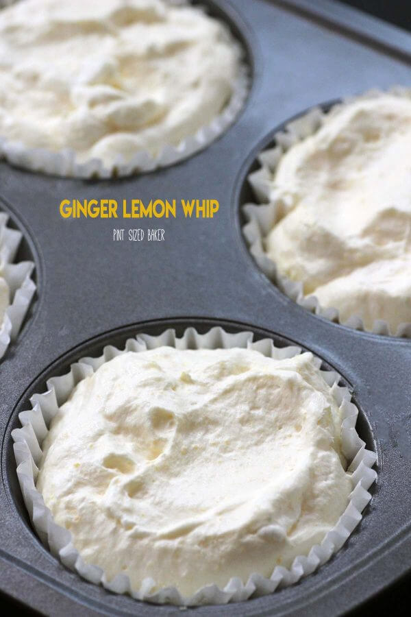 This Ginger Lemon Whip is a great frozen treat on a hot summer day. Sweet and tart and made with real ingredients, it's a great way to end the day.