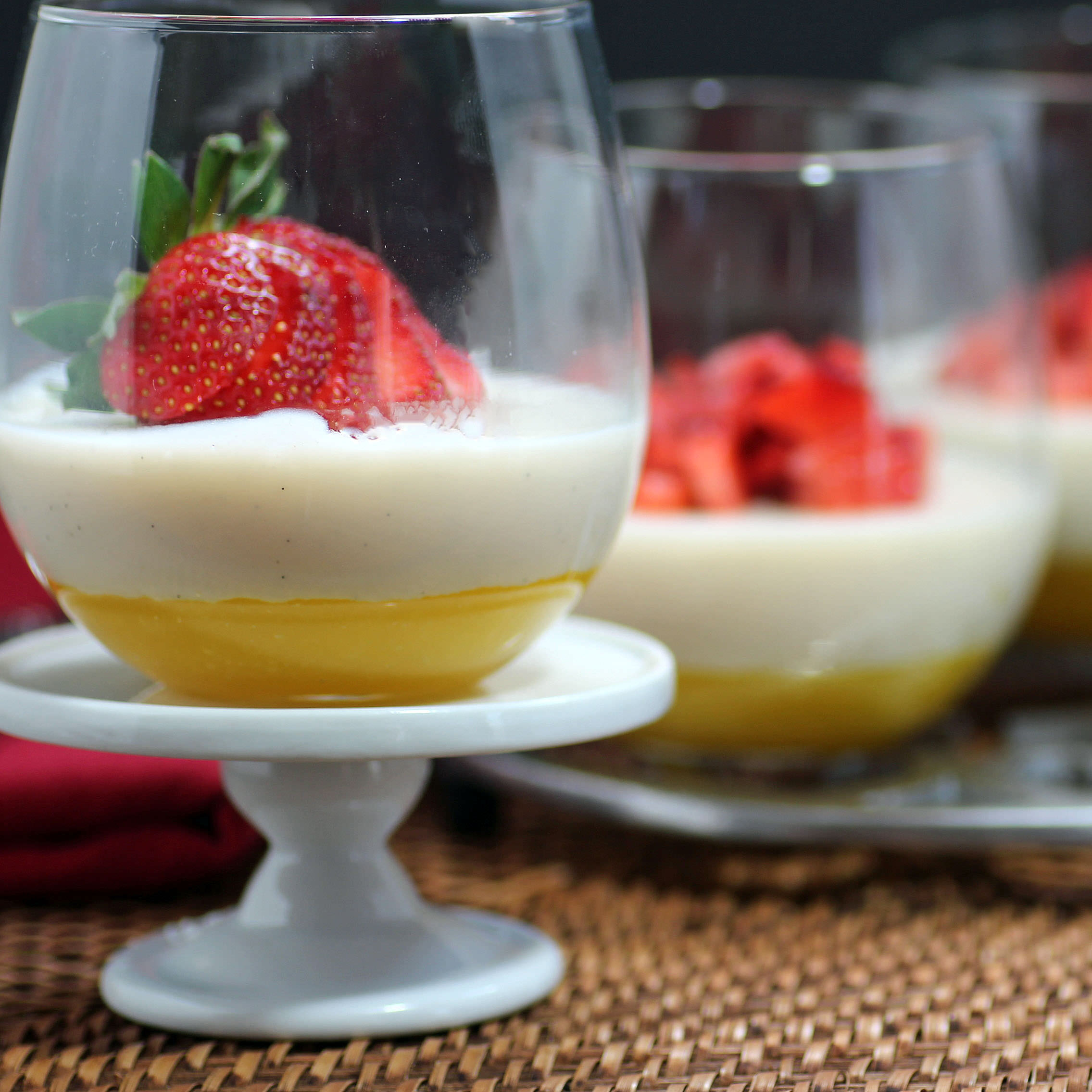 This Mango and Yogurt dessert is sure to be a hit. It's easy to make and oh so delicious.