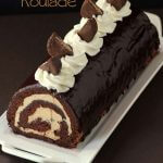 Chocolate and Peanut Butter Roulade