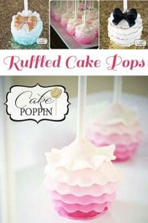 Stunning Pint Ombre Cake Pops are just to die for!