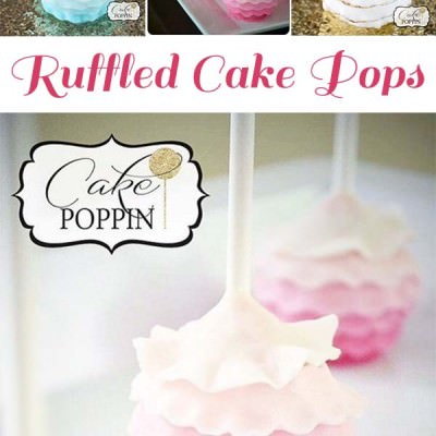 Ruffle Cake Pop Tutorial