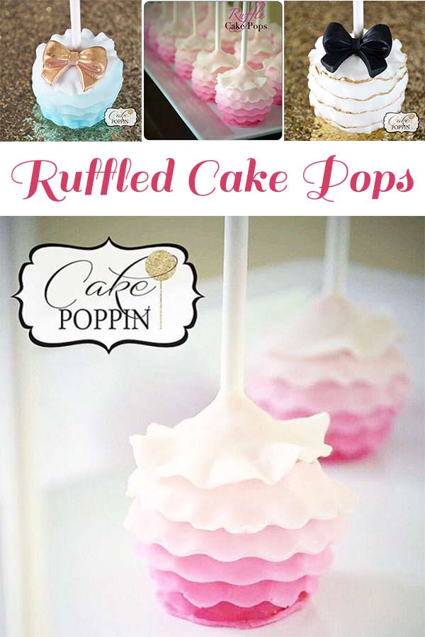 A Ruffle Cake Pop Tutorial to help you create beautifully ruffled cake pops at home. Cake Poppin' has created this tutorial to be easy and straight forward.