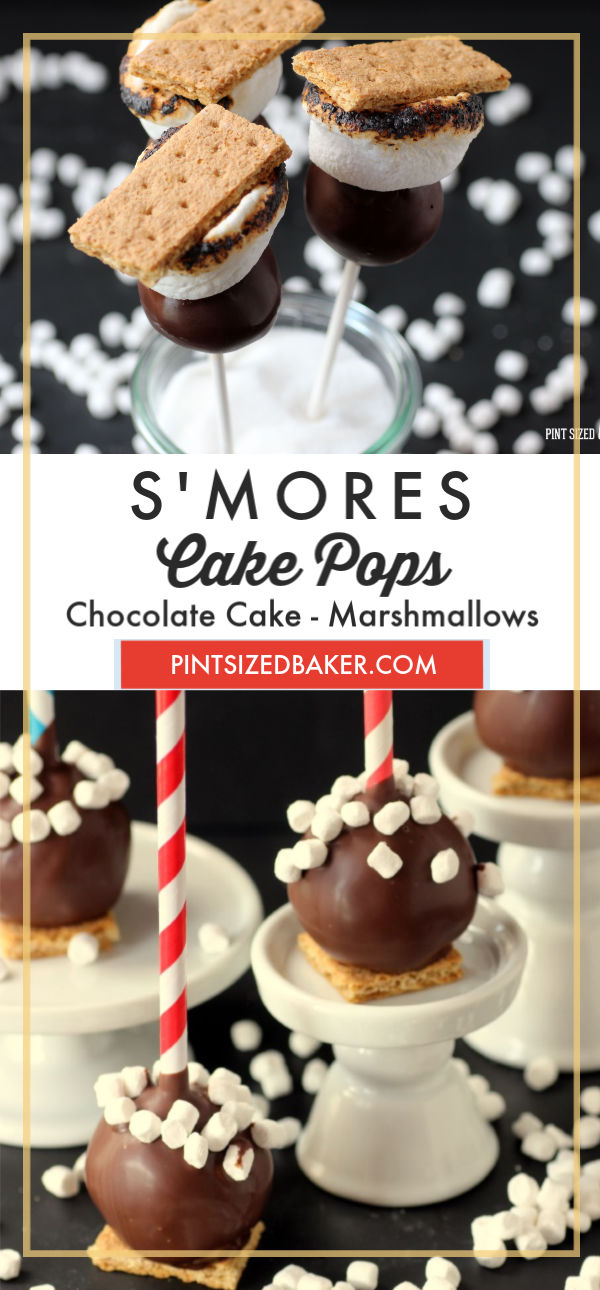 Give these fun s'mores cake pops a try this summer. Your family won't be disappointed.