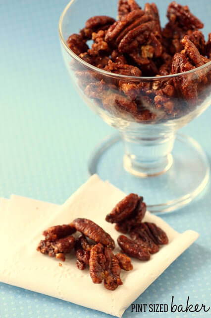 These Paleo Cinnamon Spiced Pecans are just what you need to top your dairy free snacks or to keep you going through the afternoon. Don't give into temptation.
