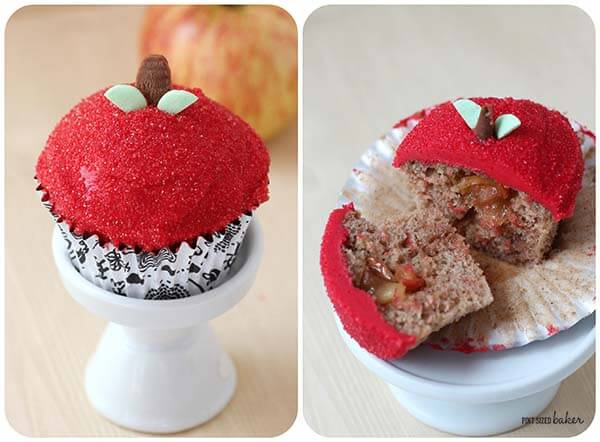 PS Apple Cupcake Collage