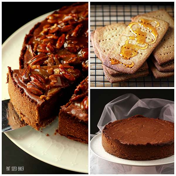 Cheesecake with Praline Collage