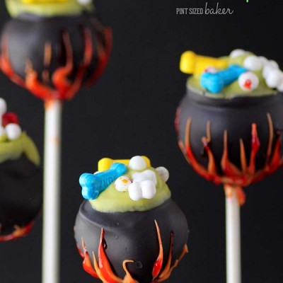 How to Make Cauldron Cake Pops