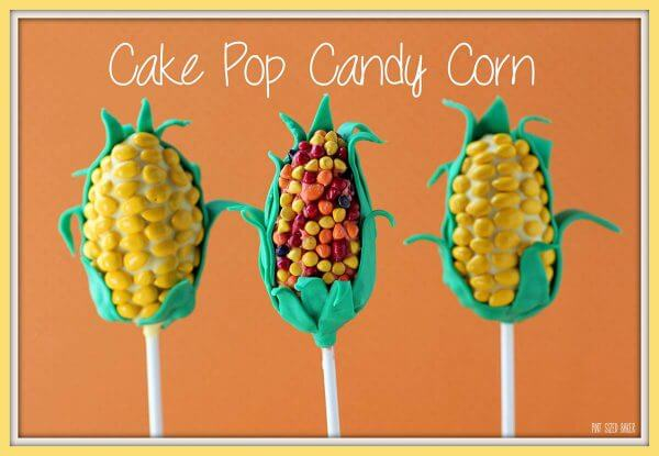 Make some fun cake pop candy corn for your fall dessert table. They are fun and easy to make!