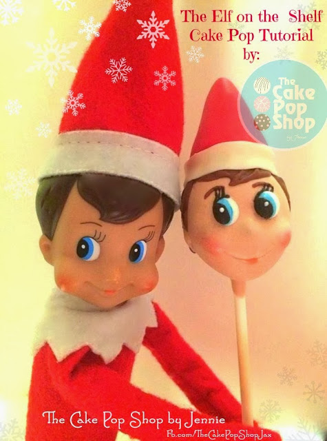I love these Elf on the Shelf Cake Pops because they look so cute! They are perfect for children's Christmas parties, and they taste yummy!
