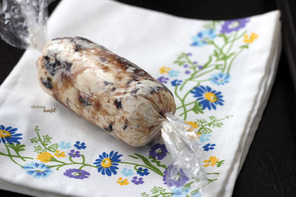 Blueberry Butter all wrapped up and ready for a yummy breakfast. from #dietersdownfall.com