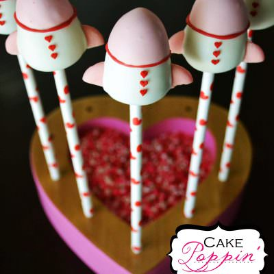 Rocket Ship Cake Pop Tutorial
