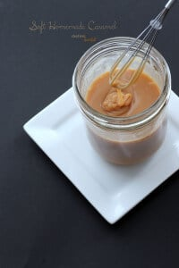 Soft homemade caramel is sweet and so yummy as a topping or filling. from #dietersdownfall.com