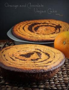 Vegan Orange Chocolate Cake