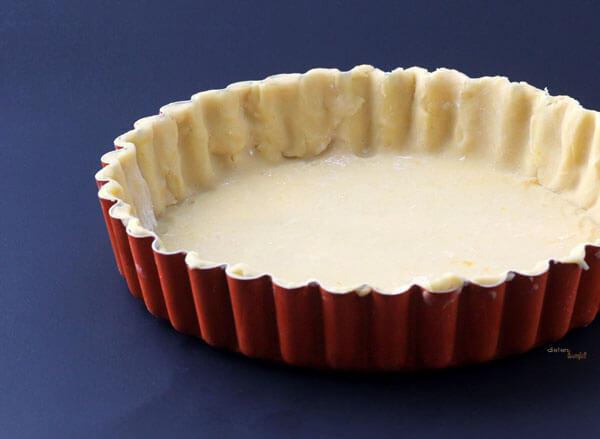 Pate Sucree 10 inch tart shell. from #dietersdownfall.com