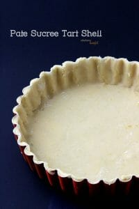 Pâte Sucrée tart crust. from #dietersdownfall.com