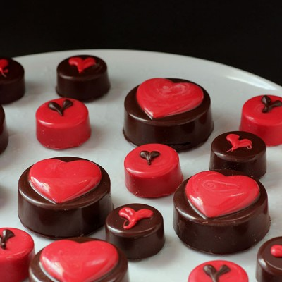 Chocolate Covered Oreo's for Valentine's Day