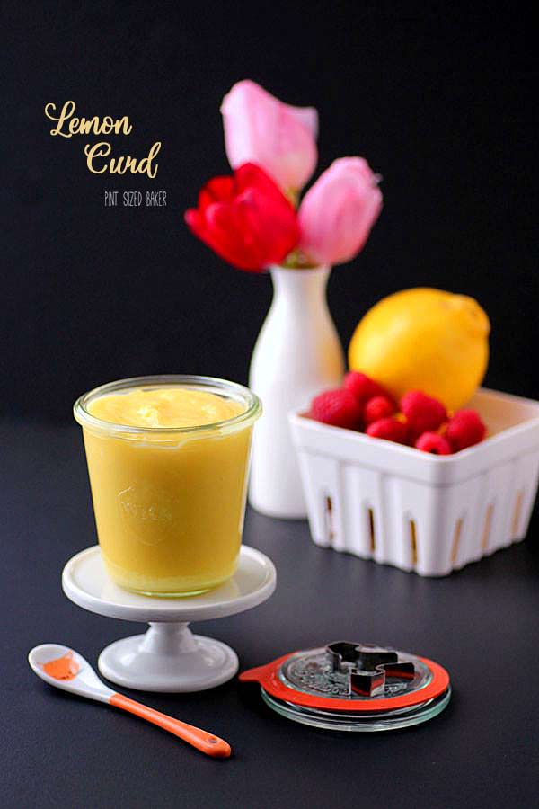 Sweet, homemade Lemon Curd is easy to make and a wonderful addition to so many desserts.