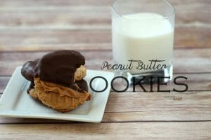 Simple and delicious - Nothing comforts like homemade Peanut Butter Cookies. from #dietersdownfall.com