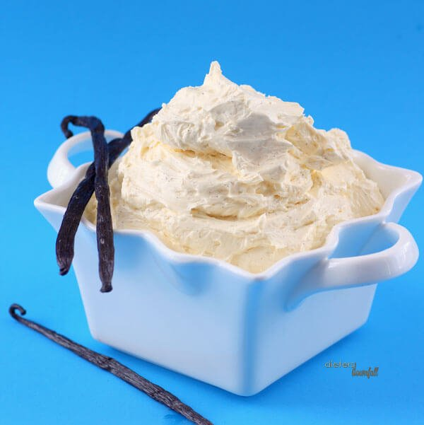 Traditional Buttercream made with tempered whole eggs and lots of butter. from #dietersdownfall.com