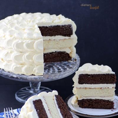 Chocolate Cake and Cheesecake
