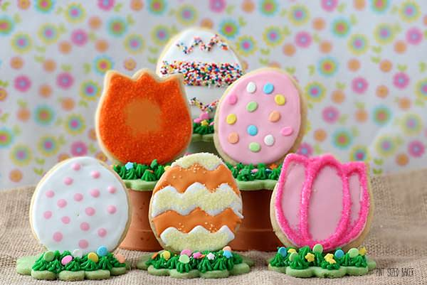 These Easter Cookies stand up on their own. Learn how they were made.