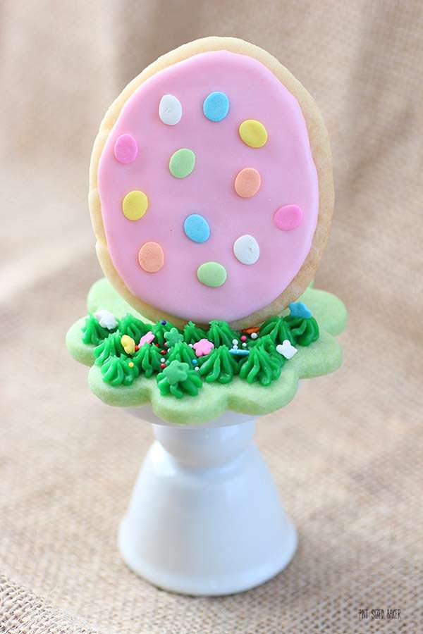 Enjoy these cookies for place settings, a center piece, or stashed around the house for cute decoration for your Easter Celebration. These are some fun eggs that everyone wants to find!