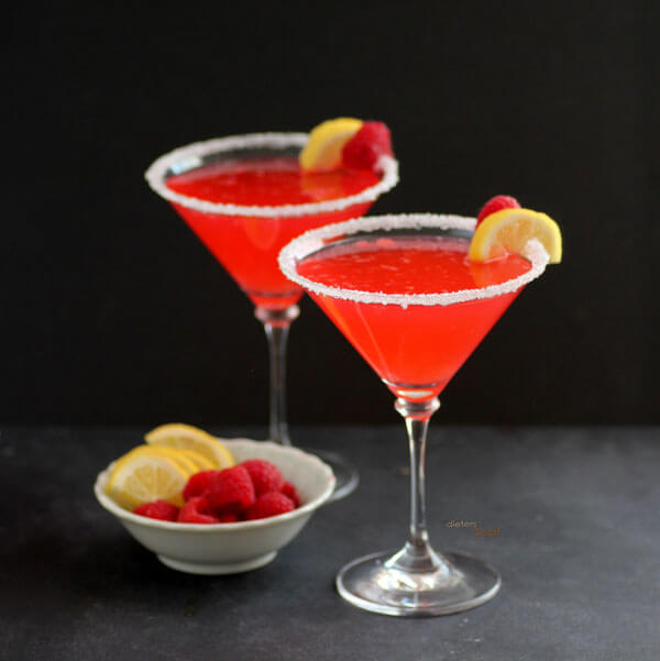 Raspberry lemonade martini recipe for Flavored vodka martini recipes
