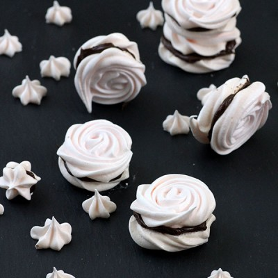 Meringue Sandwich Cookies