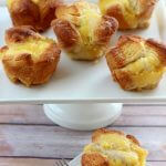 Your family is going to love this easy Lemon Curd Monkey Bread for breakfast and dessert. It's easy to make with just four store bought ingredients. Make some for a weekend treat!