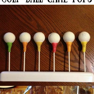 How to Make Golf Ball Cake Pops