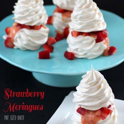 Strawberry Meringues Recipe
