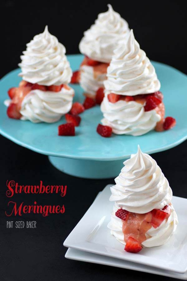 Strawberry Meringues Recipe