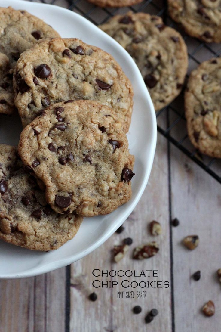 These classic chocolate chip cookies are just what you've been craving! Pack them with chocolate and walnuts for a great snack any time of day!